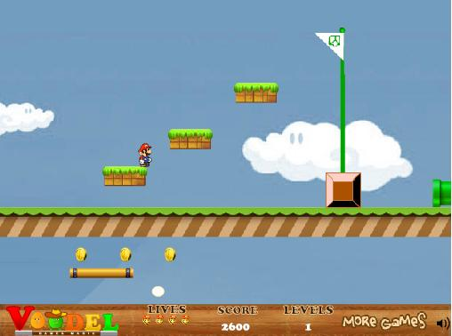 بازی آنلاین سوپر ماریو